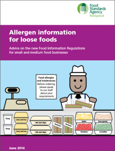 FSA Loose foods leaflet June 2014