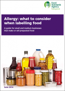 FSA Prepacked labelling June 2014